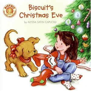 cover of Biscuit's Christmas Eve childrens book