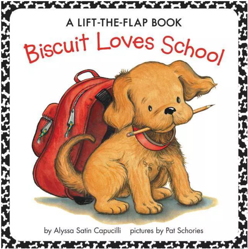 biscuit loves school new edition