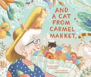 book cover for And a Cat from Carmel