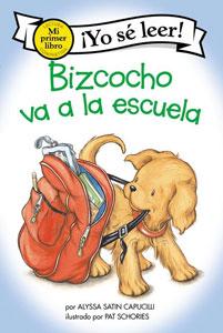 Bizcocho va a la escuela cover